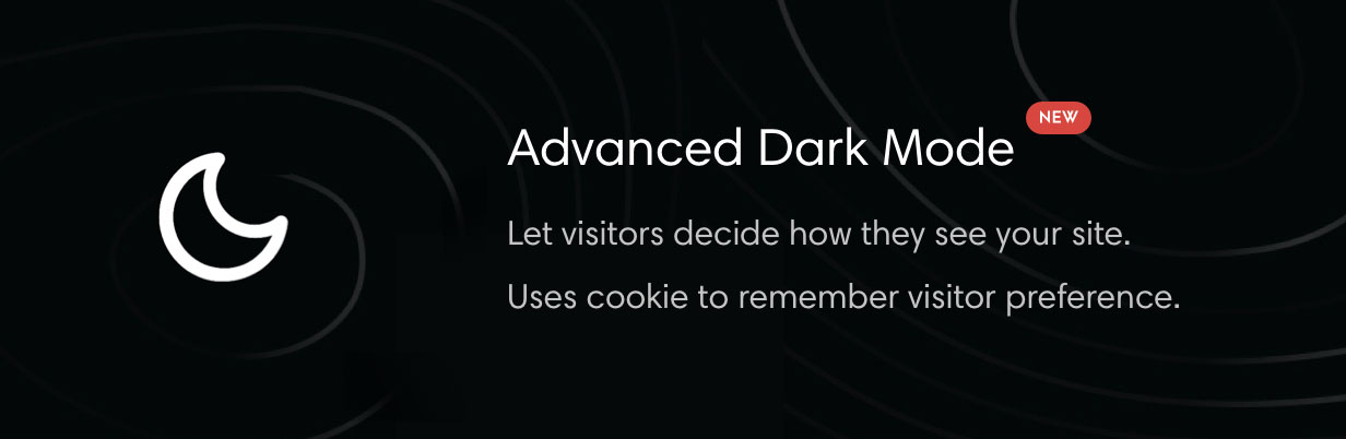 Theme with dark mode