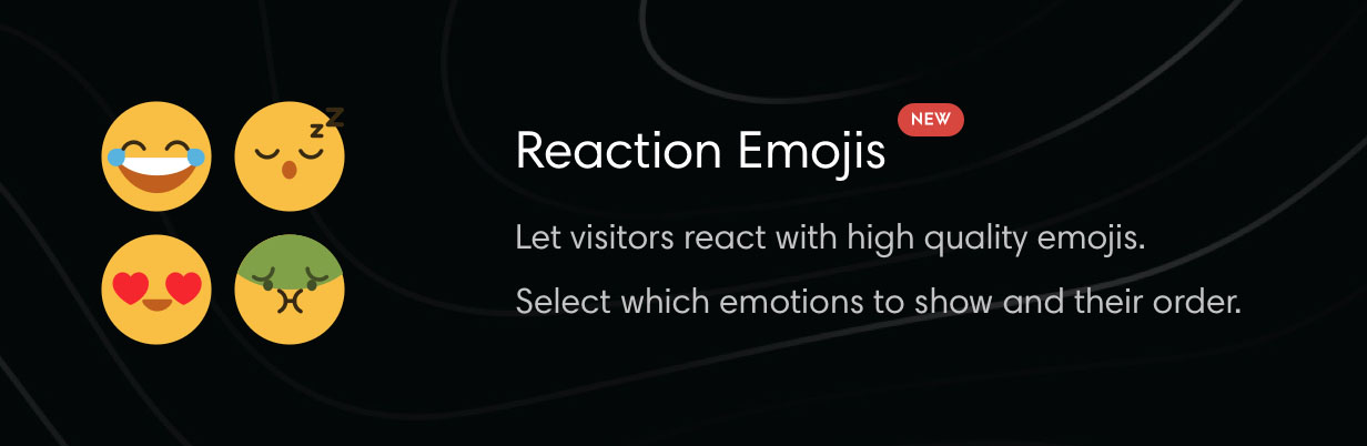 Theme with Emoji reactions