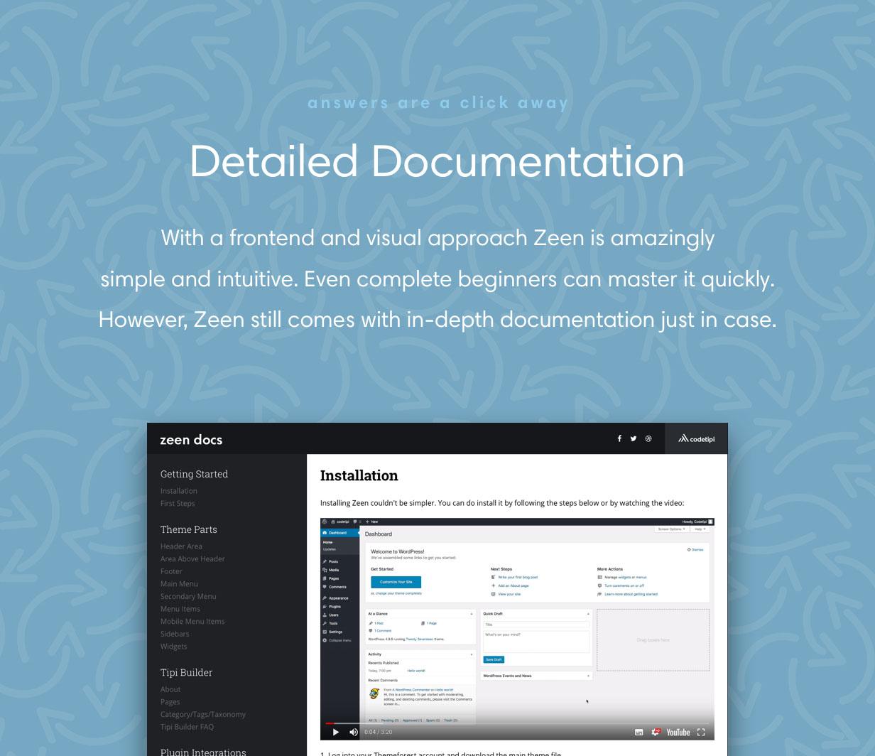 Zeen Documentation